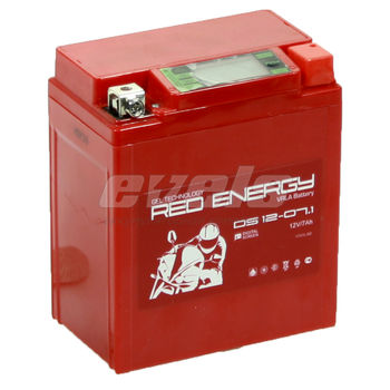 Red Energy DS12-07.1 (YTX7L-BS 7А/ч)